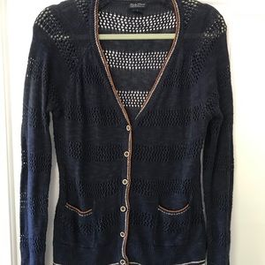 Lucky Brand open knit cardigan
